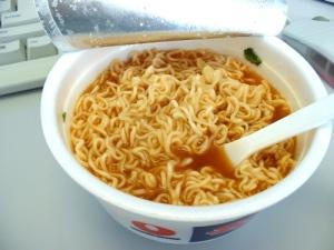 Ramen Noodles- I've had 'em for lunch at least MCCV times!