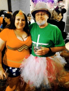 Only a real man like Perry can get away with wearing a tutu.