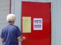 141225 Voting Woman