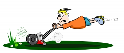 150423 Man with Mower